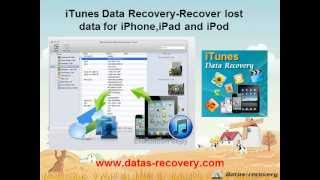 iOS 7 iTunes data recovery-Recover lost data for iPhone iPad iPod iOS 7