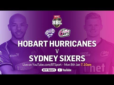 FULL MATCH: Hobart Hurricanes v Sydney Sixers (Jan 8, 2018) - BBL Mp3