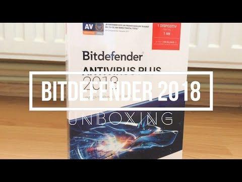 Unboxing BITdefender Antivirus 2018