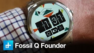 Fossil Q Founder Smartwatch Review