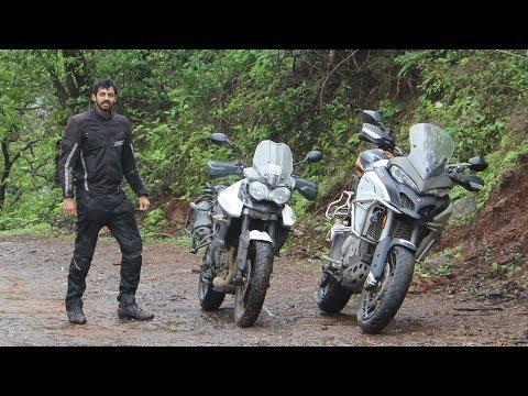 Triumph Tiger vs Ducati Multistrada - Off-Road | Faisal Khan