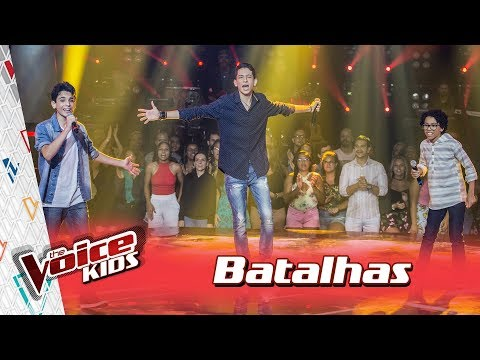 Arthur, Felipe e Guilherme cantam 'Pro Dia Nascer Feliz' nas Batalhas – TVK Brasil | 3ª T