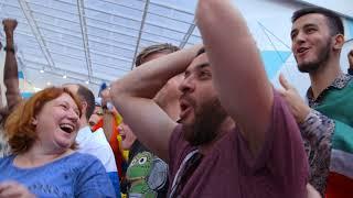 FIFA Fan Fest Moscow смотрит финал