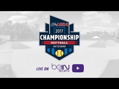 2017 C-USA Softball Championship - Game 8 - Louisiana Tech vs WKU