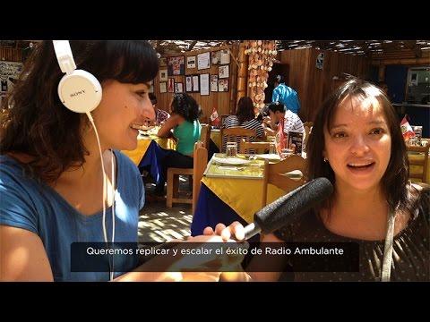 La Escuela Radio Ambulante
