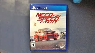 NEED FOR SPEED PAYBACK (UNBOXING PS4 ESPAÑOL)