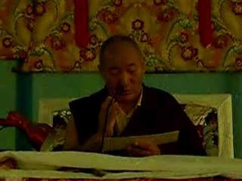 Phowa Prayers, Ayang Rinpoche Bodh Gaya 2005