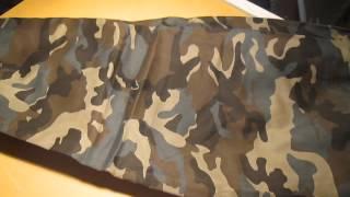 Комуфляжные штаны с монжетом с aliexpress 25$(, 2014-08-20T01:28:35.000Z)