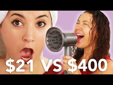 $21 Vs. $400 Blow Dryer