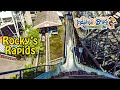 2019 Indiana Beach Rocky's Rapids Log Flume On Ride HD POV