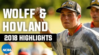 Matthew Wolff & Viktor Hovland highlights: 2018 NCAA golf title