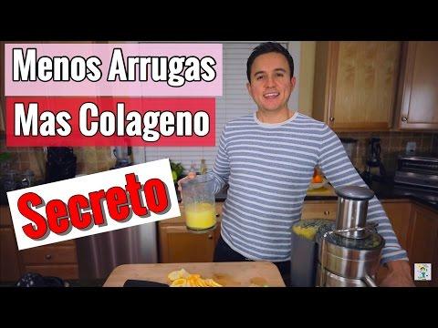 JUGO PARA LA PIEL + ARRUGAS + BELLEZA + COLAGENO con Vitamina C y MSM