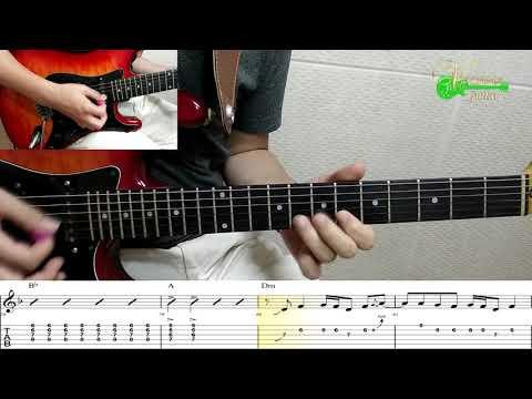 [젊은 미소] 건아들 - 기타(연주, 악보, 기타 커버, Guitar Cover, 음악 듣기) : 빈사마 기타 나라