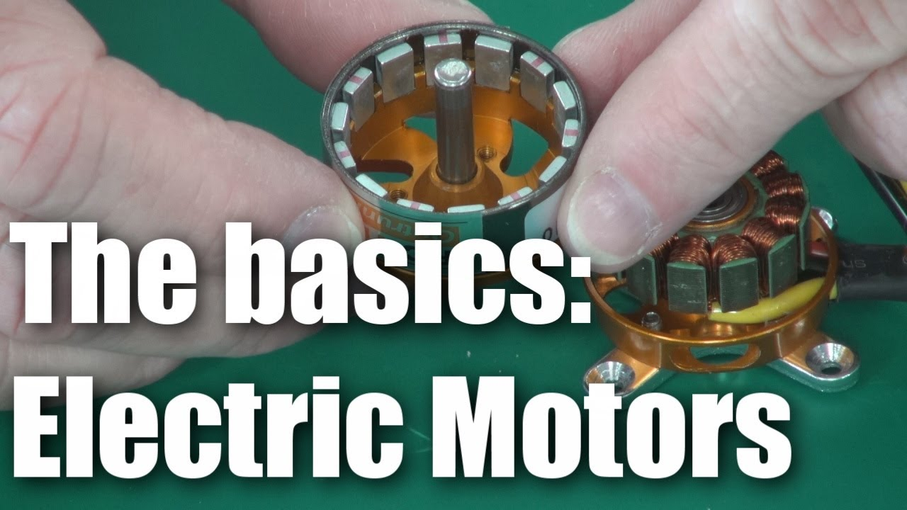 RC BASICS: brushless electric motors - YouTube