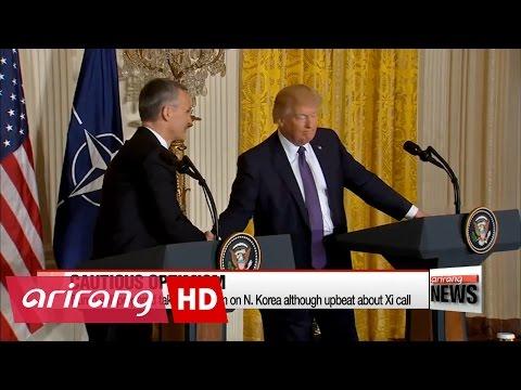 Trump talks tough on North Korea