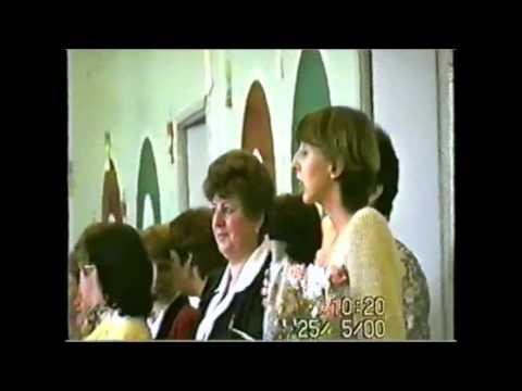 Последний звонок (9-й класс, Санкт-Петербург, школа №349, 2000-й год)