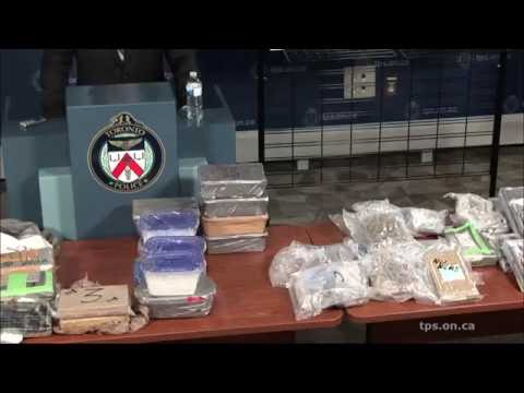 @TorontoPolice 'Project Polar' News Conference | Largest Cocaine Seizure in Toronto History