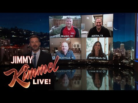 Jimmy Kimmel Talks to Perfectly Named People