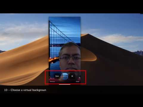 How To Set Up A Virtual Background Using Zoom Iphone Mobile Zoom Youtube