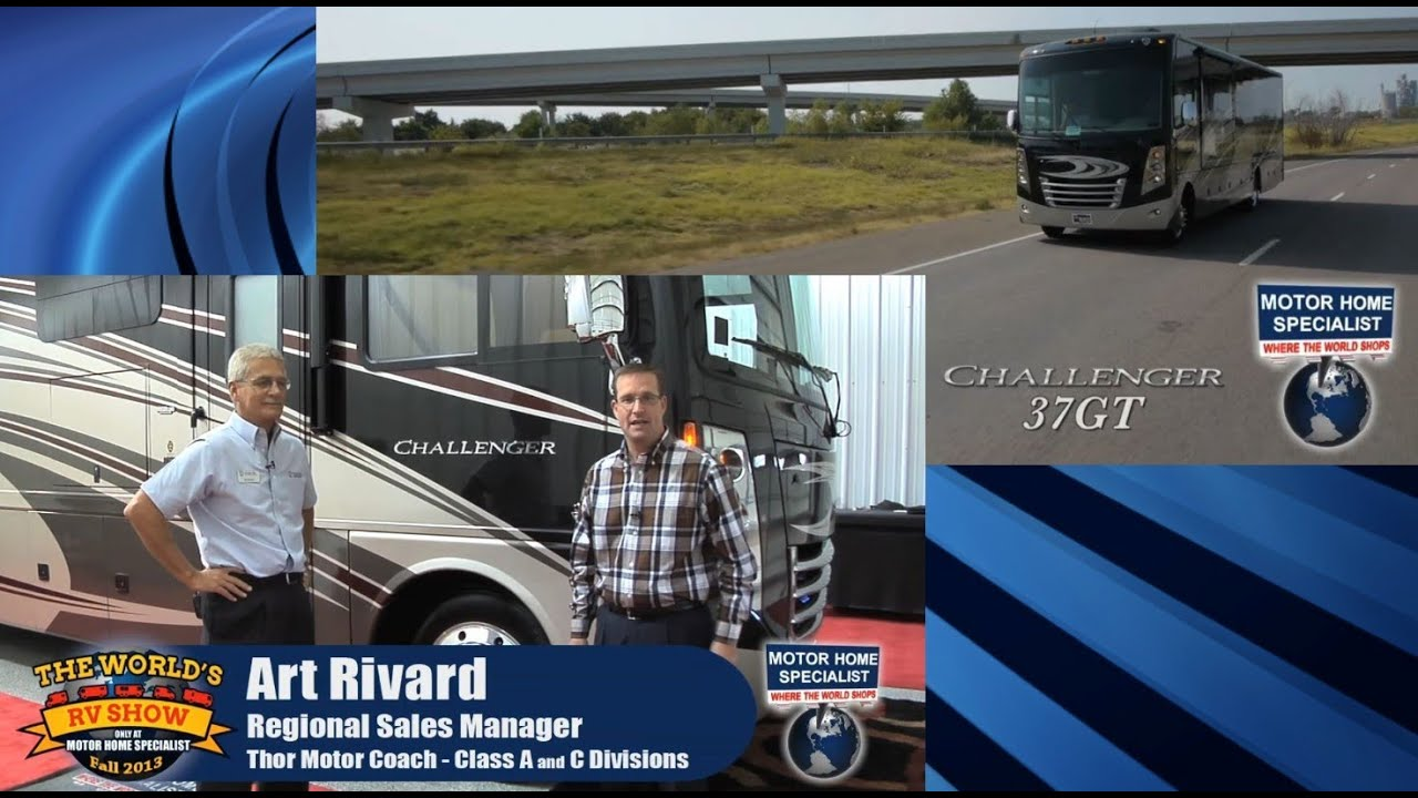 2014 thor motor coach challenger luxury rv 37gt review at motor home specialist