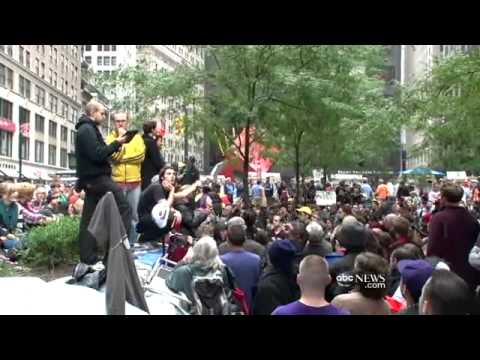 Occupy Wall Street Movement Told to Move by New York Mayor