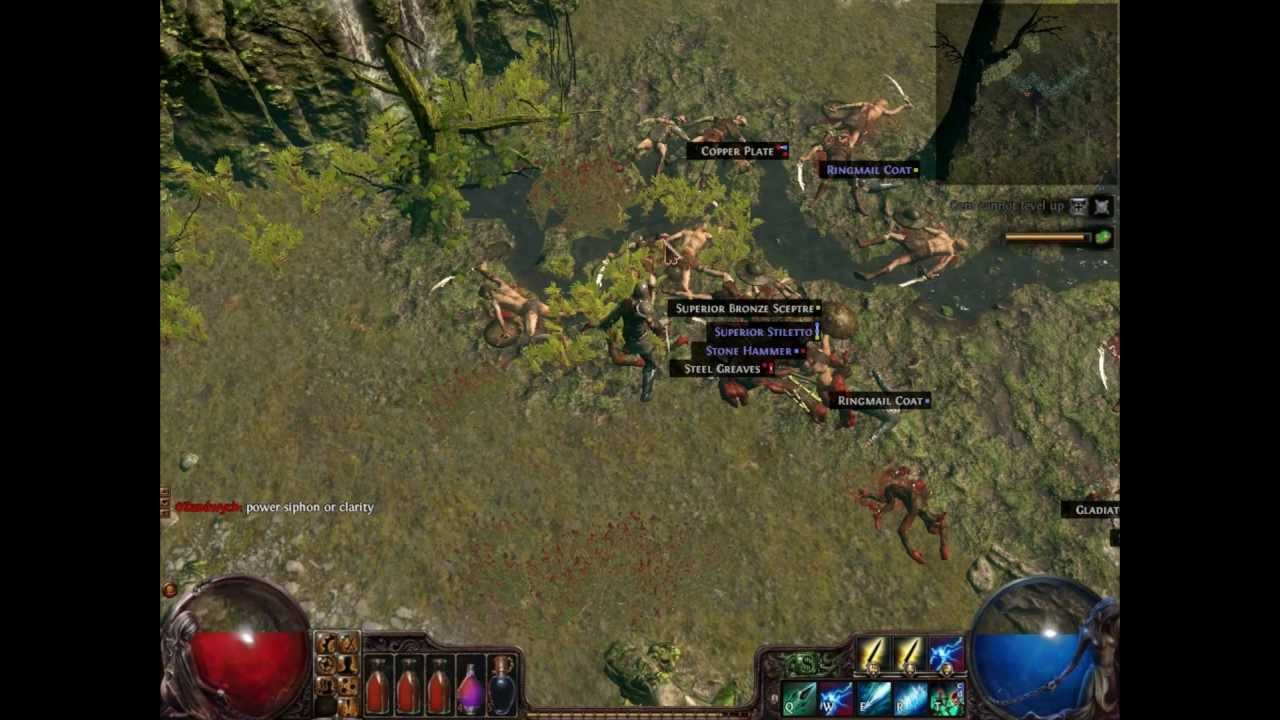 Path Of Exile Skill Gem: Ethereal Knives