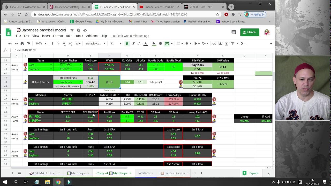 Npb live betting lines guaranteed stop loss spread betting
