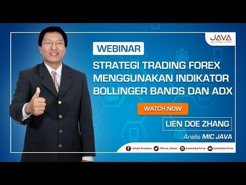 Webinar Strategi Trading Forex Menggunakan Indikator Bollinger Bands dan ADX