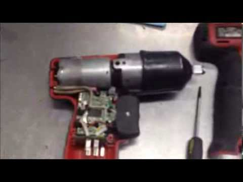 Broken Snap On Cordless Impact Disassembly repair Snap-On CT661