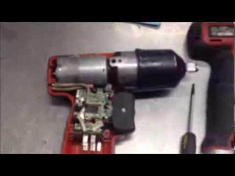 Broken Snap On Cordless Impact Disassembly Repair Ct661 You