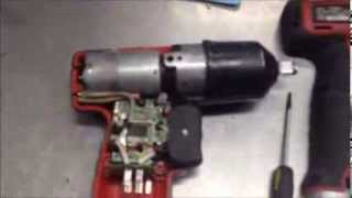 Broken Snap On Cordless Impact Disassembly repair Snap-On CT661