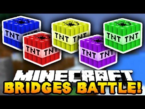 "Minecraft BRIDGES BATTLE ""TNT SQUAD!"" #6"