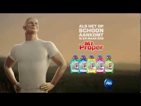 Beroemd Mr. Proper: nu eindelijk in Nederland! - YouTube @FT08