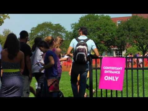 American Idol on the University of Iowa Campus on YouTube