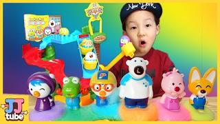 신제품 데굴데굴 뽀로로 액티비티세트 장난감 놀이 pororo toy 제이제이튜브 jj tube