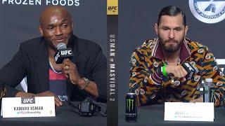 UFC 261: Пресс конференция перед турниром