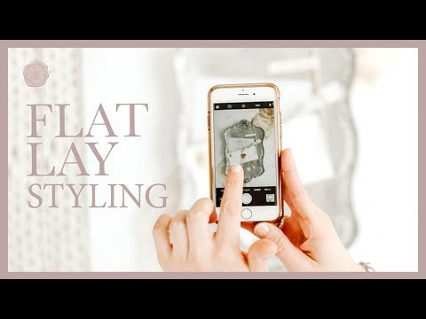 How To Style Flat Lays