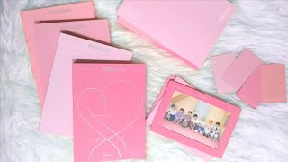 bts map of the soul: persona album unboxing