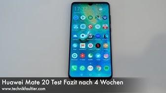 Huawei Mate 20 Test Fazit nach 4 Wochen