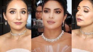 I tried to Re create Priyanka Chopra's Cannes Makeup Tutorial 2019    By Monika