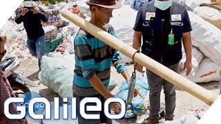Bezahlen mit Müll - So geht die Wellt mit der Plastikflut um | Galileo | ProSieben