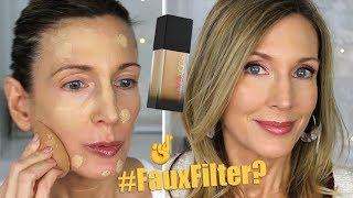 Foundation Friday Over 50 | Huda Faux Filter Foundation | Multi-Day Wear Test on Mature Skin