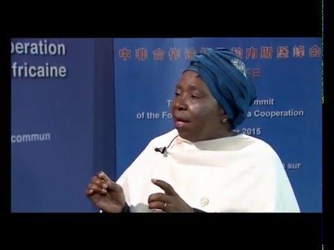China is not colonizing Africa: Dlamini-Zuma