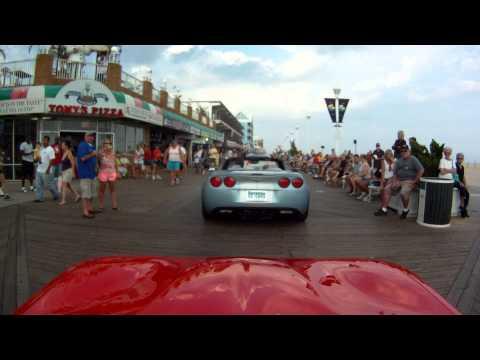 Corvettes On The Boardwalk 2013 #1