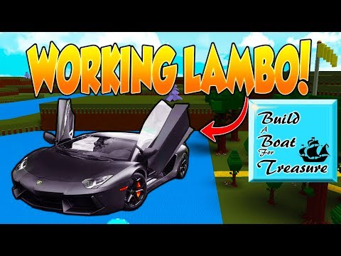 How To Build A Car In Build A Boat For Treasure Car Sale And Rentals