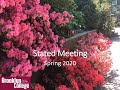 Brooklyn College Stated Meeting | Spring 2020