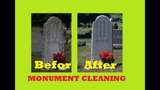 2 secrets of Cleaning Headstones