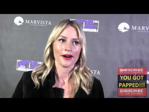 Cameron Richardson talks about her role at The Legend of Alice Flagg Premiere at Arena Cinema in Hol