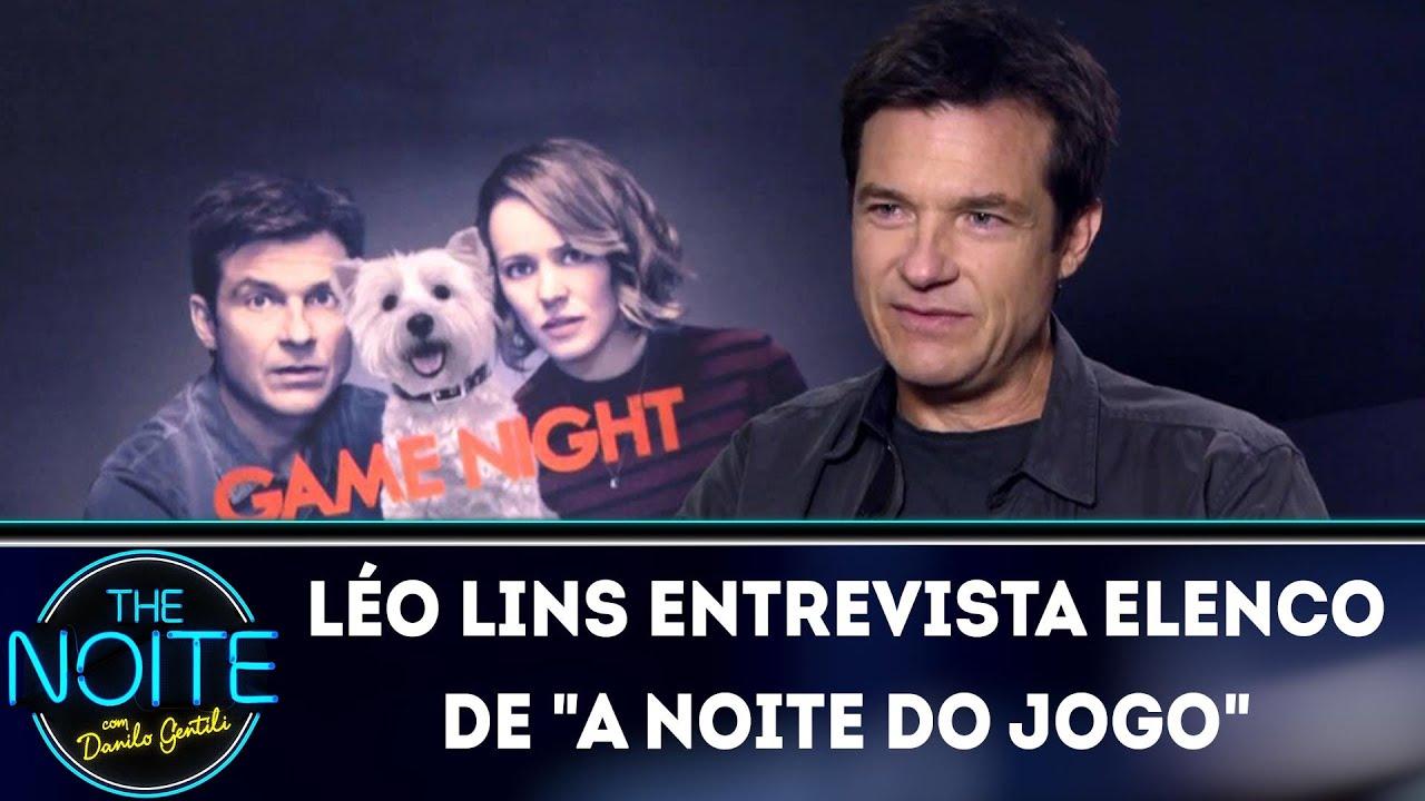 Léo Lins entrevista elenco de
