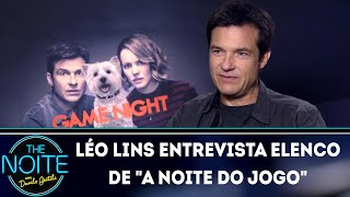 "Download Video Léo Lins entrevista elenco de ""A noite do jogo""  